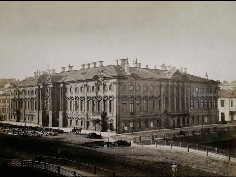 Stroganov Palace and Mansion. About 1865