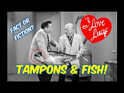 """FACT OR FICTION?: KOTEX USED IN THE TUNA FISH!!--""""I LOVE LUCY!"""""""