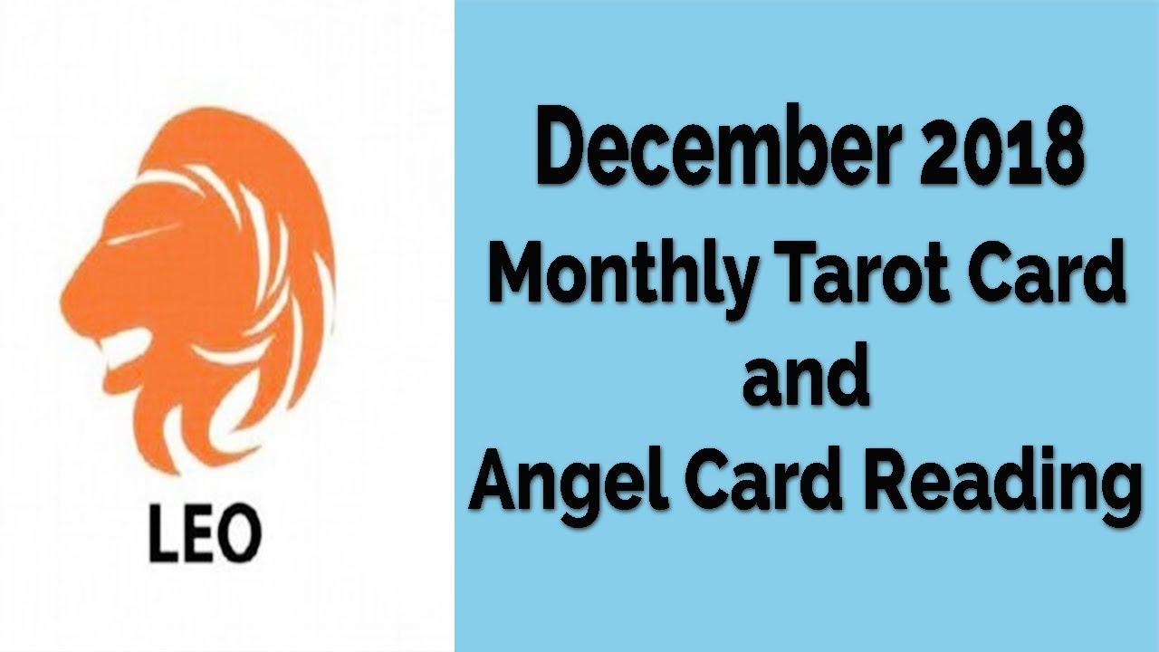 leo december 2019 tarot card reading