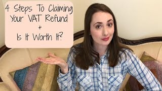 Everything You Need To Know About Claiming Your VAT Tax Refund