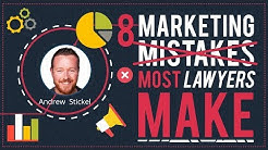 Marketing for Lawyers - 8 Mistakes Most Law Firms Make
