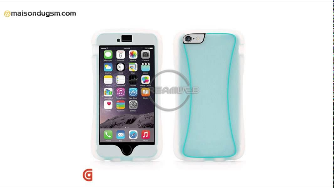 Coque iPhone 6 Plus Griffin SURVIVOR SLIM Bleu - YouTube 4a82e6d3dcb7