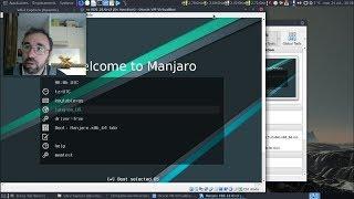 Un aperçu de Manjaro Linux KDE 18.0rc3