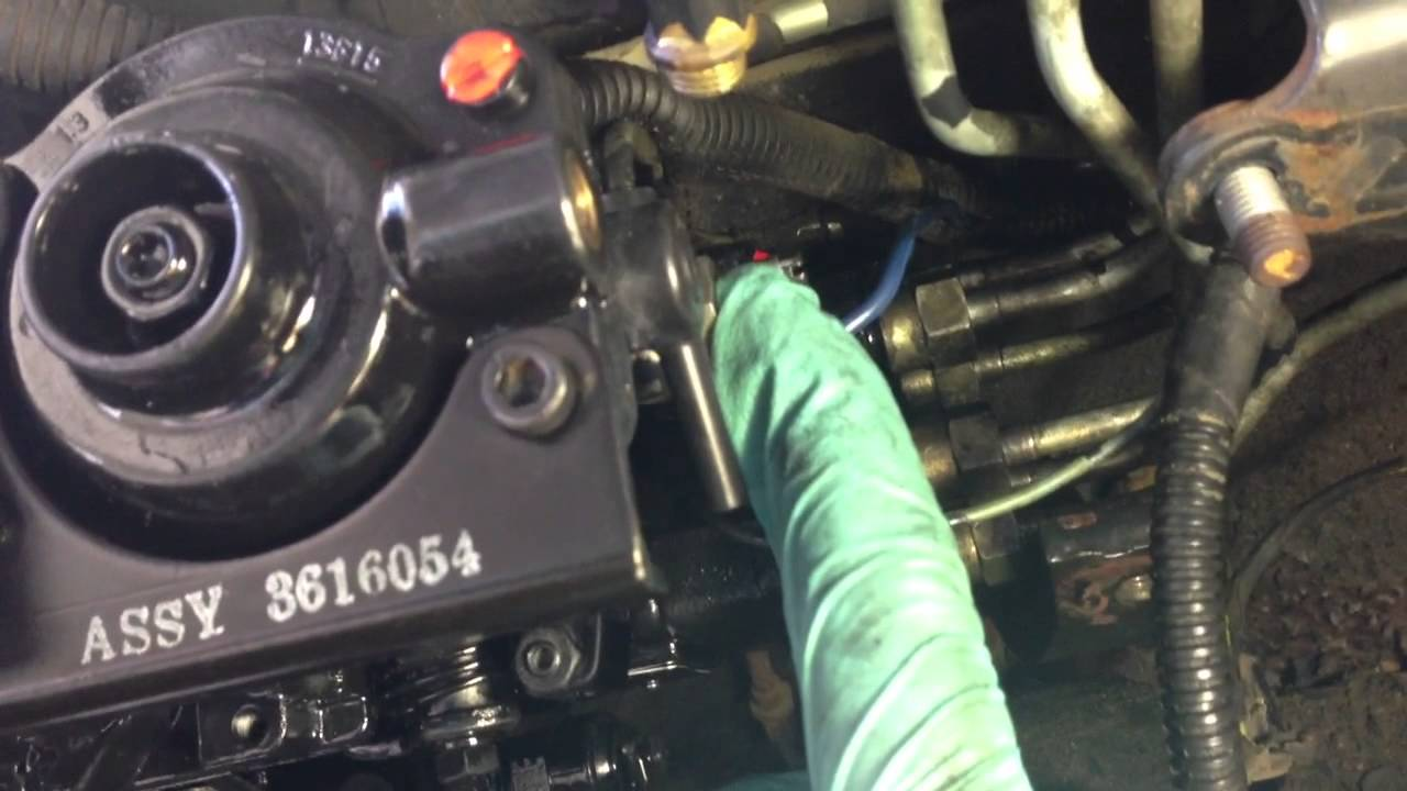 Bosch VE Pump Installation   YouTube Bosch VE Pump Installation