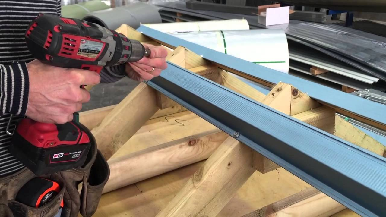 How To Install Metal Battens Onto Timber Trusses Metal