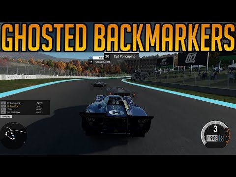 Forza 7: Backmarkers Are Now Ghosted!