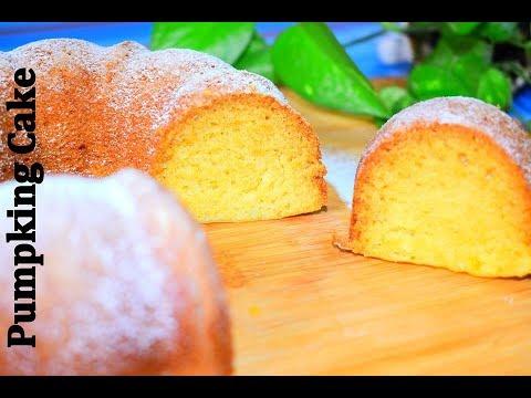 Eggless Pumpkin Cake || Pumpkin Cake Recipe|| Easy Pumpkin Cake