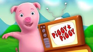 Este porquinho   rimas em portugues   canções do bebê   This Little Piggy   Farmees Português