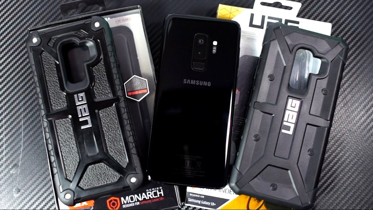 new product a3a7c 7f1c4 Samsung Galaxy S9+ Monarch and Pathfinder UAG Cases Unboxing and Review