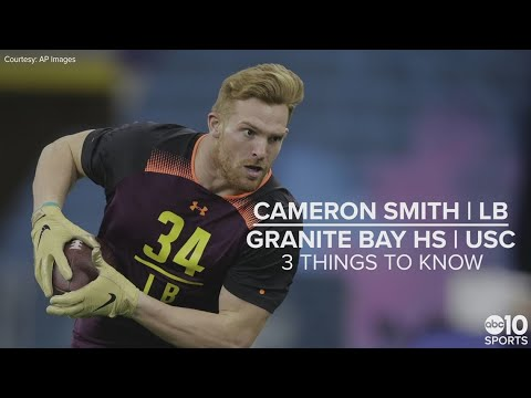 937081b4bfbca Cameron Smith – NFL draft 2019 prospect – LB - YouTube