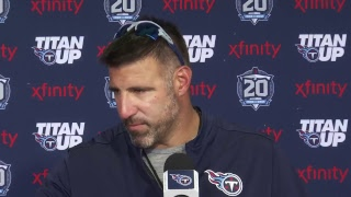 #Titans Head Coach Mike Vrabel's Post-Practice Press Conference