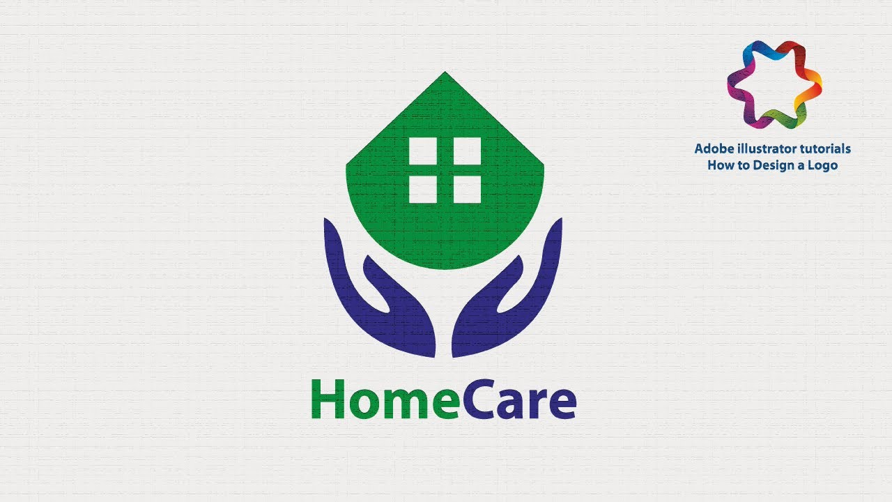 Adobe Ilrator Tutorial Quick And Simple Trick To Design Home Care Logo Full