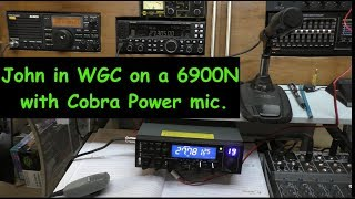 CB RADIO UK SSB:  CRT6900N. Cobra power mic