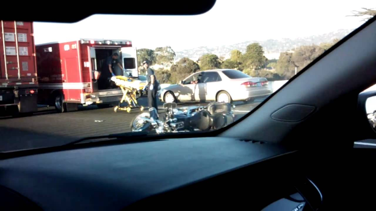 Motorcycle accident near Richmond, CA - Interstate 80