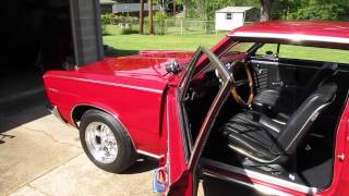 1965 Pontiac Tempest start-up, exhaust and story