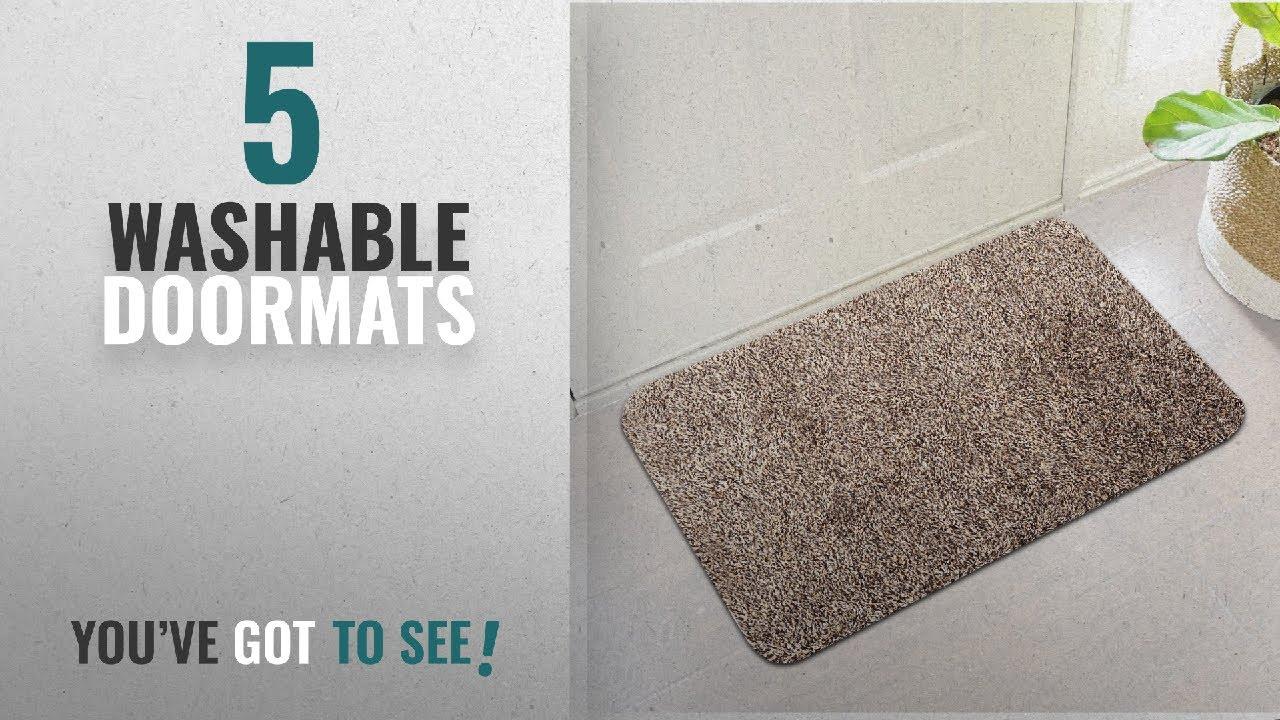 Top 10 Washable Doormats [2018 ]: Indoor Super Absorbs Mud Doormat ...