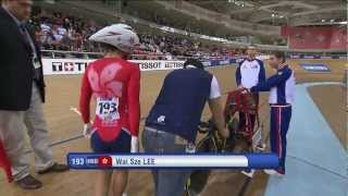 Lee Wai Sze  - Women's Final 500m Time Trial - 2013 UCI World Track Championships, Minsk