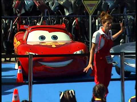 Disney Pixar España | Tour Europeo de Cars 2 en Madrid Videos De Viajes