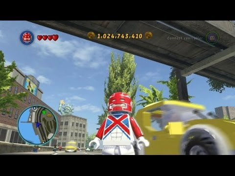 Lego Marvel Super Heroes Unlocking Captain Britain Gameplay All Captain Britain Missions