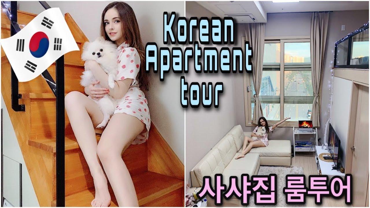 MY KOREAN(SEOUL) DUPLEX LOFT APARTMENT TOUR (1000$)