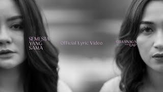 Gita Sinaga & Uap Widya - Semesta Yang Sama (Official Lyric Video)