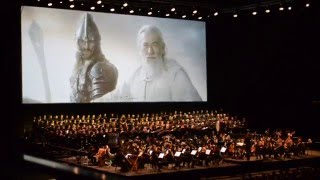 Lord of the Rings in Concert Helm 39 s
