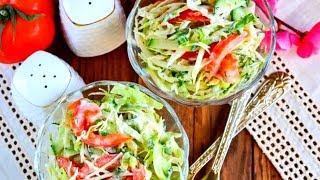 Салат за 5 хв. з пекінської капусти