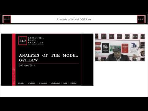 ELP Analysis of Model GST Law
