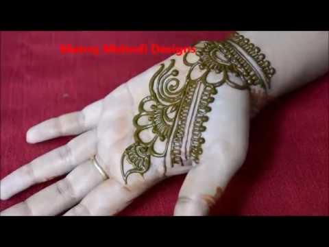 Easy Simple Floral Mehndi Henna Designs For Hands Matroj Mehndi