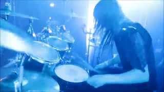 """Dark Funeral - Nils """"Dominator"""" Fjellström - When Angels forever Die (Drumcam)"""