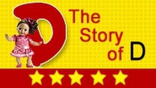 Alphabet Songs - Story Of Letter D for Nursery Kids