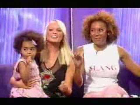 EMMA BUNTON INTERVIEWED WITH MEL B AND PHOENIX CHI