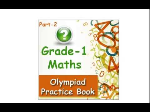 1st class maths olympiad practice book for kids