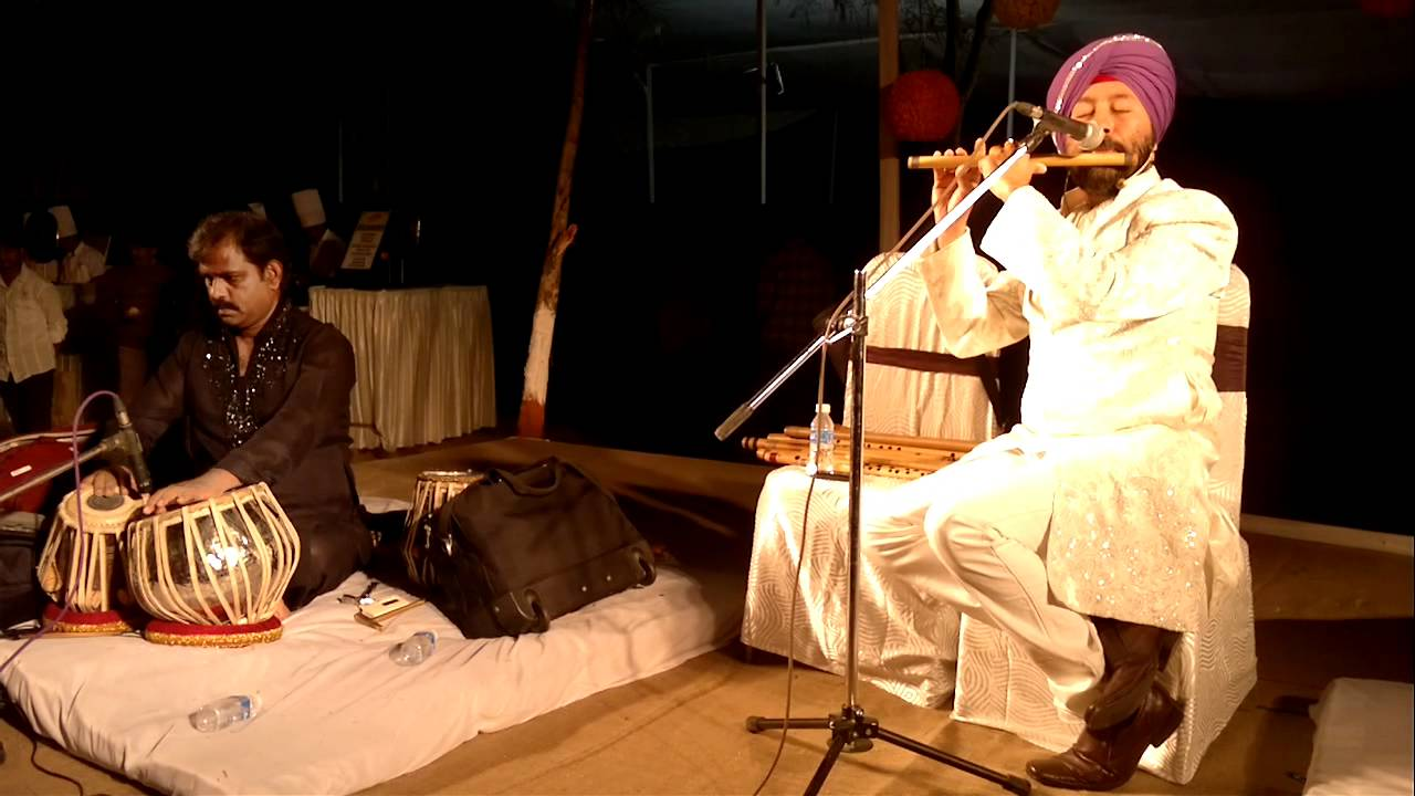 Pravin godkhindi pankh hote to ud aati re (flute instrumental.
