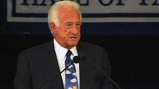 Bob Uecker is inducted into the Baseball Hall of Fame