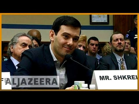 🇺🇸 'Pharma Bro' Martin Shkreli sentenced to seven years | Al Jazeera English