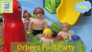 Playmobil Film Deutsch ORBEEZ POOL PARTY SCHULAUSFLUG ZUM AQUAPARK ♡ Playmobil Geschichten