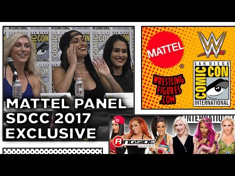 Mattel WWE Entire Panel! - SDCC 2017 - San Diego Comic Con!