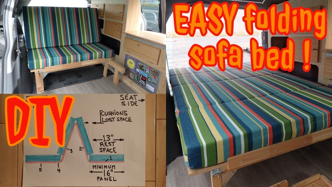 Van Conversion Bed Folding Sofa