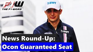 F1 News Round-Up: Ocon Guaranteed 2020 Seat, Stroll Set For Test and Ferrari Took Too Long