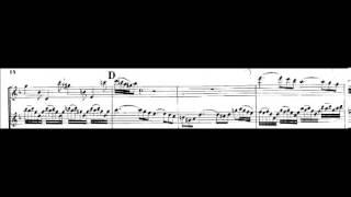 Bach - Kivelidi BWV 1043 double violin concerto D-m largo - piano arrangement - violin scores
