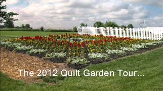 "Weaver Furniture Sales Presents The 2012 ""sunshine And Shadows"" Quilt Garden"