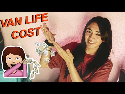 Living in A Van: How much does van life COST? how much do you NEED to start?