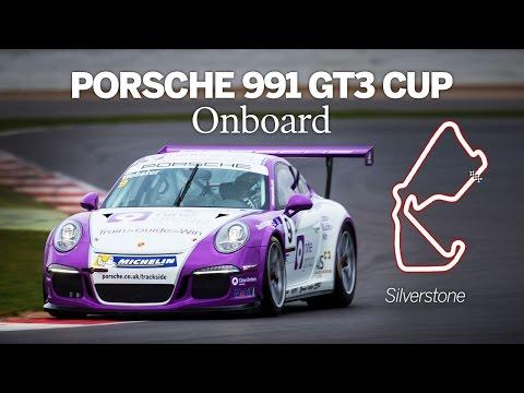Porsche 991 GT3 Cup | Onboard | Silverstone Grand Prix Circuit
