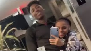 NBA YoungBoy On A Date With Floyd Mayweather Daughter Money Yaya