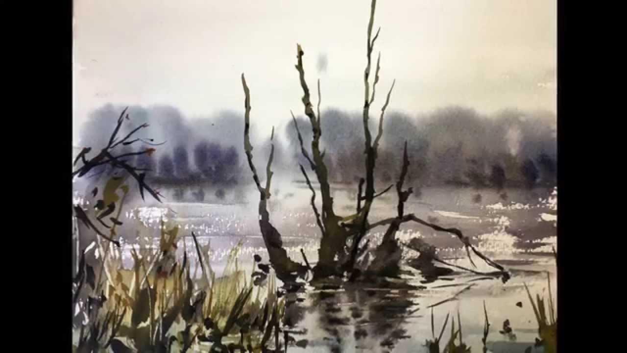 lær at male landskaber