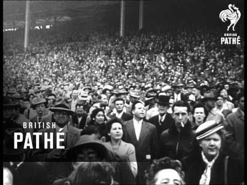 Gratitude Train On West Coast & Santa Anita Derby (1949)