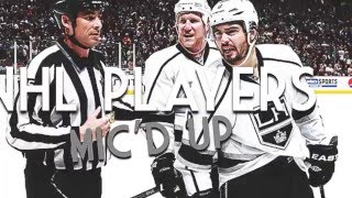 NHL Players Mic'd Up || Trash Talk & Funny Moments ||