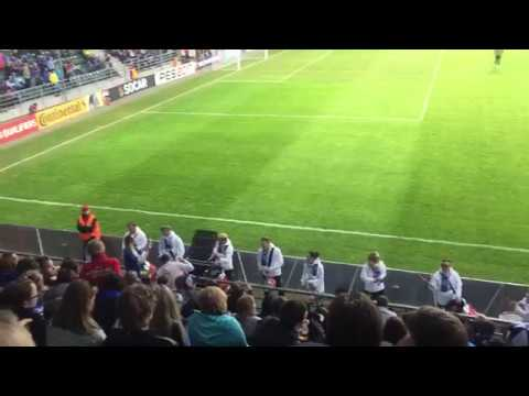 Estonia Vs Belgium Halftime Drumshow In Tallinn
