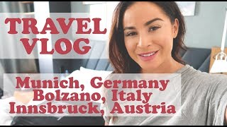 Travel Vlog: Germany, Italy and Austria